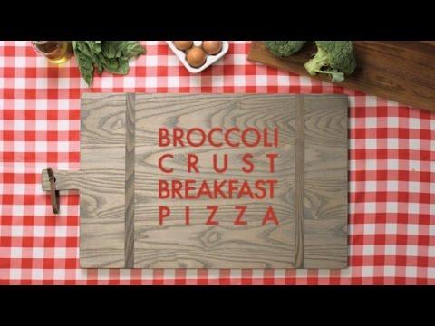 Broccoli Crust Breakfast Pizza Recipe - FIXATE™