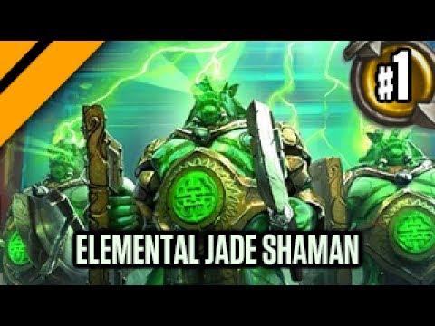 Day[9] HearthStone Decktacular #320 - Elemental Jade Shaman