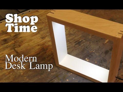 Modern Picture Frame Desk Lamp