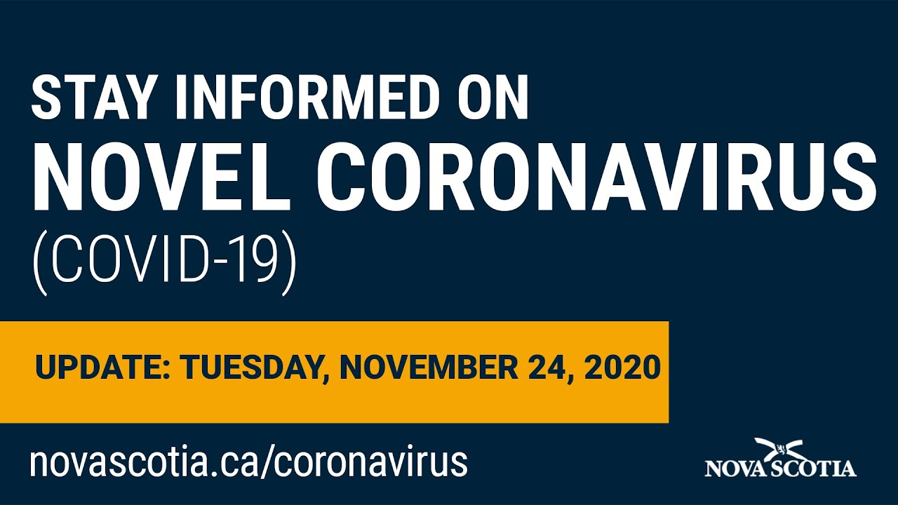 Update COVID-19 for Nova Scotians: Tuesday November  24