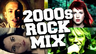 2000's Rock Songs Mix 🎸 Best Rock Hits of the 2000's Playlist