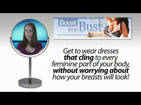 how to increase breast size naturally fast at home