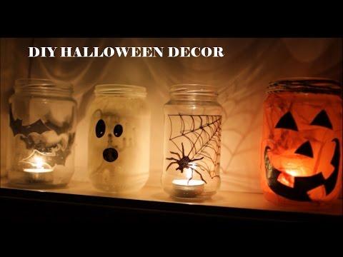 Last minute Halloween decoration ideas DIY