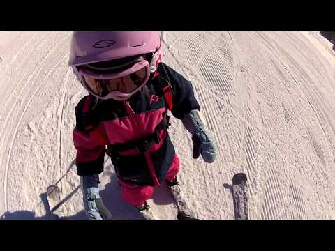Learn to Ski (with kids) - Lesson 3: Stopping