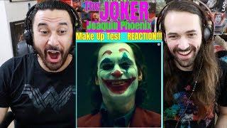 JOKER Movie 2019 - Joaquin Phoenix Make Up Test - REACTION!!!