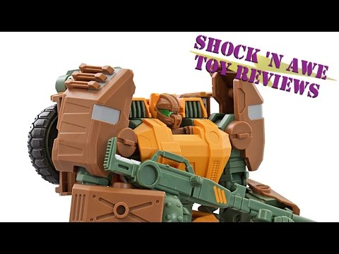 Mastermind Creations R23 Dicamus (Transformers 3rd Party Roadbuster) Review