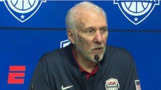 Popovich credits Australia for snapping Team USA's 78-game win streak   NBA on ESPN