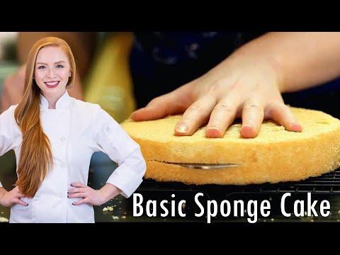 How-To Make Perfect Sponge Cake - Как Приготовить Бисквит