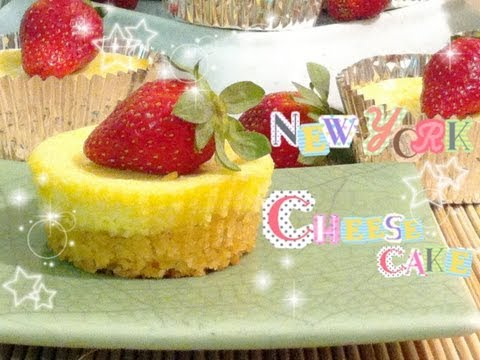 How To Make New York Baked Cheesecake Cupcakes