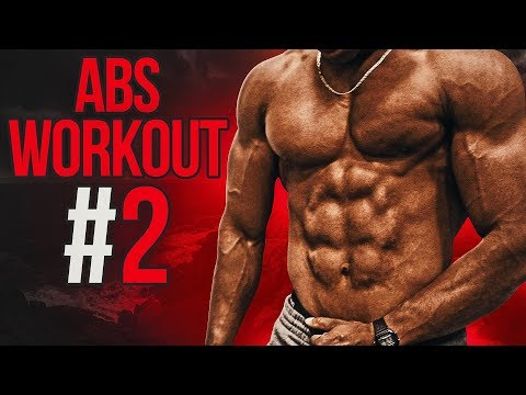 5 Minute Home ABS Workout #2 - Follow Along