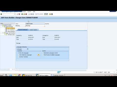 SAP ABAP - Steps to Create a Smartform