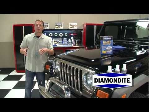 How To Remove Water Spots with Diamondite Glass Cleaning System