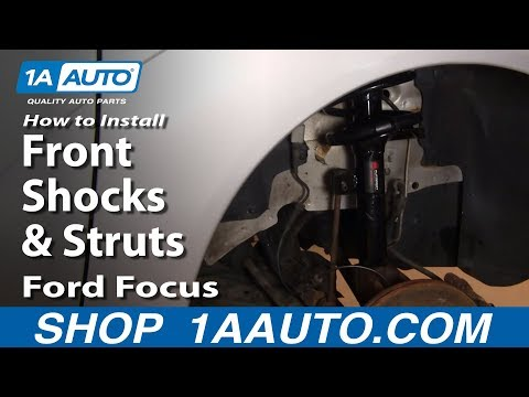How To Install Replace Front Shocks & Struts Ford Focus 00-05 1AAuto.com