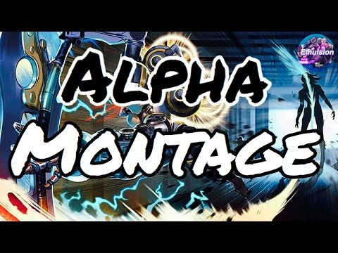 Vainglory - Alpha Montage!! [Do not attempt too flee]