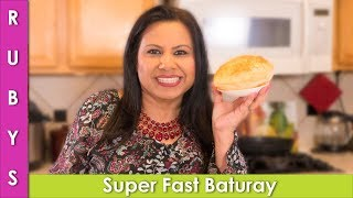 Bhature No Yeast Super Fast and Easy Recipe in Urdu Hindi - RKK