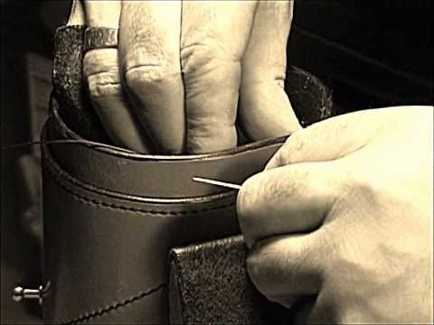 Round Leather Box