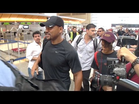 Will Smith Leaves L.A. With Jaden Amid Reports He Paid $2M To Keep Alleged Gay Lover Quiet
