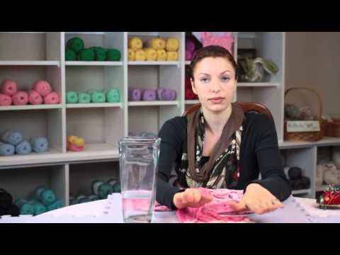 How to Wash a Wool Scarf : Fiber Arts