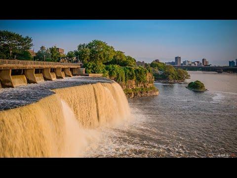 Rideau Falls, Ottawa, Canada.
