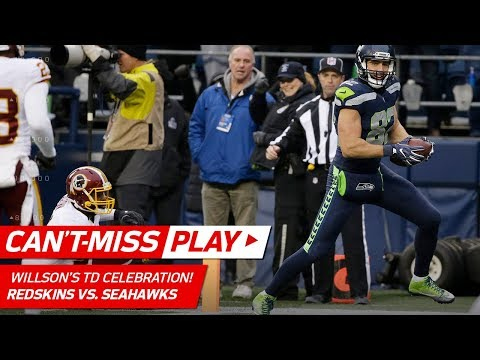 Luke Willson's TD w/ Flute Celebration PLUS Ridiculous 2-Point Play! | Can't-Miss Play | NFL Wk 9