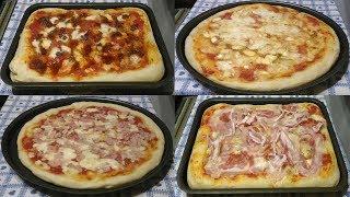 Ricetta Come fare la pizza in casa, leggera altissima digeribilità - Italian pizza - LericettediGian