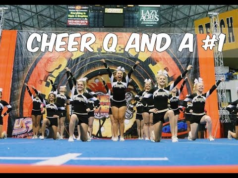 CHEER Q&A #1~cheer after high school plans, dealing with negativity, my cheer life