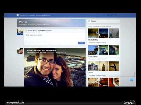 Facebook's New Homepage Look March 2013