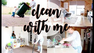 WATCH ME CLEAN MY DIRTY HOUSE! | SPEED CLEANING | CLEAN WITH ME