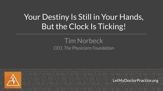 Your Destiny Is Still in Your Hands, But The Clock is Ticking