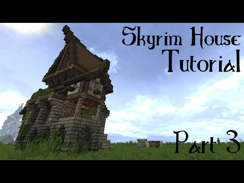 Minecraft Skyrim/Solitude Building Tutorial part 3