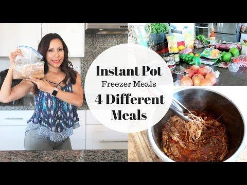 4 Instant Pot Freezer Meals | Paleo |  Keto | Clean Eating