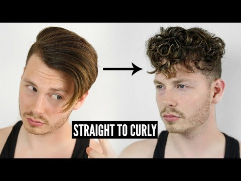 HOW TO GET CURLY HAIR EASY - STRAIGHT TO CURLY INSTANTLY! TUTORIAL 2018