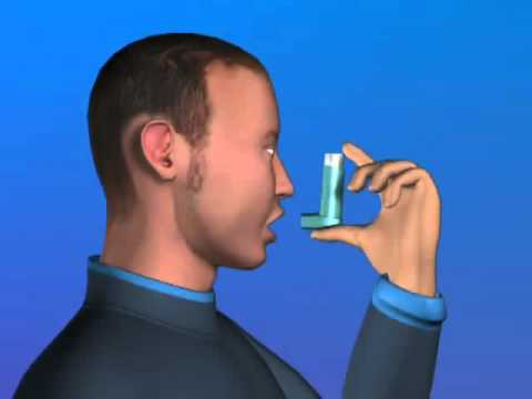 How to use your Metered Dose Inhaler   YouTube