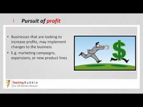 VCE Business Management - Driving Forces