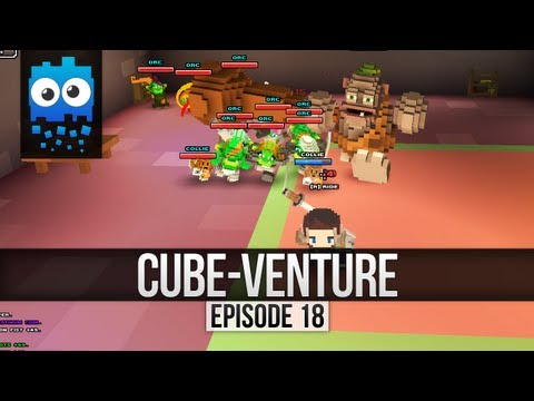 Cube-Venture Episode 18 : Cube World Alpha Let's Play! - Castle Complete... Zombies 2 Strong!