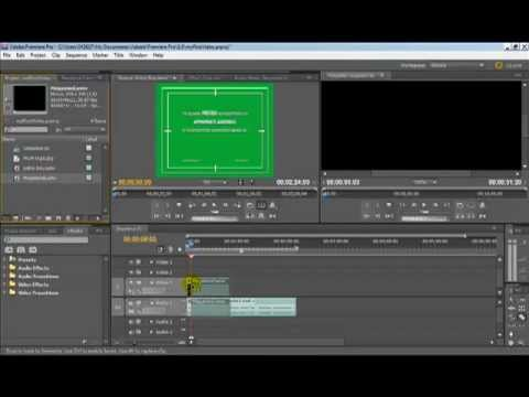 How to split video clips in Adobe Premiere Pro CS5.5