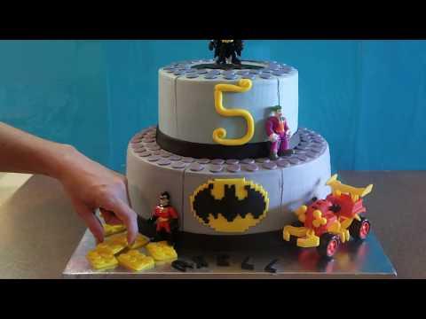 Lego Batman Cake | Lego Cakes Ideas | Lego Party Ideas |  DIY & How to