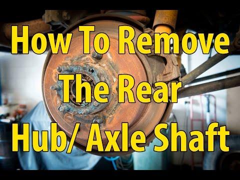 How to remove rear hub Landcruiser 75/ 79/ 80/ 100/ 105
