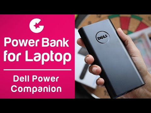 Dell Power Companion (18000 mAh) PW7015L - A Portable Power Bank For Laptops!