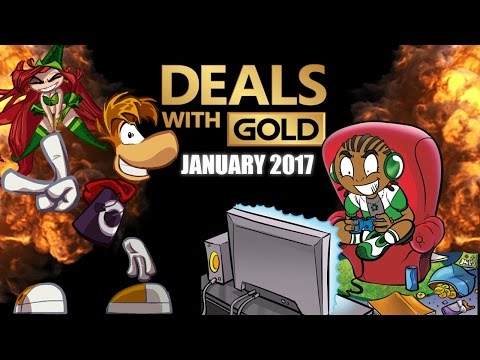 Xbox Live Games With Gold January 2017 - Xbox One Xbox 360 Free Games