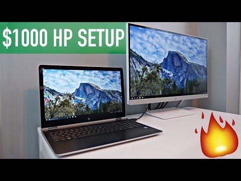 HP Pavilion x360 + 27xw Monitor: Best $1,000 Productivity Setup!