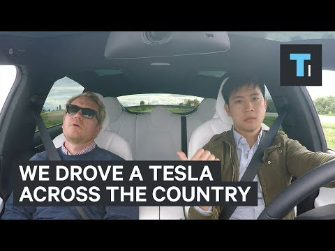 We drove the electric Tesla Model X across America