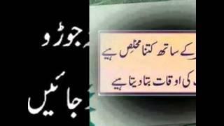 Best Urdu Quotes (Messages) for life