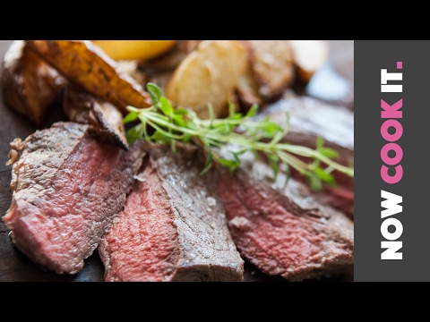 How To Cook The Perfect Steak & Potato Wedges | Now Cook It