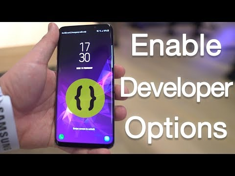 How to Enable Developer Options & USB Debugging on Galaxy S9 and S9 Plus