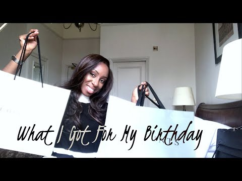 LUXURY BIRTHDAY HAUL - BURBERRY, MULBERRY, KAREN MILLEN, CALVIN KLEIN & ALL SAINTS