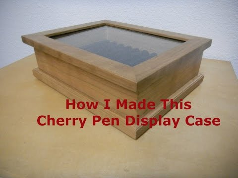 How To Make This Cherry Pen Display Case