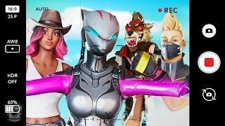 LYNX AND DRIFT DOUBLE DATE! *LYNX STORY* - A Fortnite Short Film