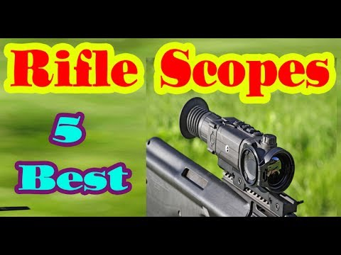 Best Rifle Scope to Buy in 2017