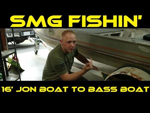 My Favorite 16ft Jon Boat To Bass Boat Restoration
